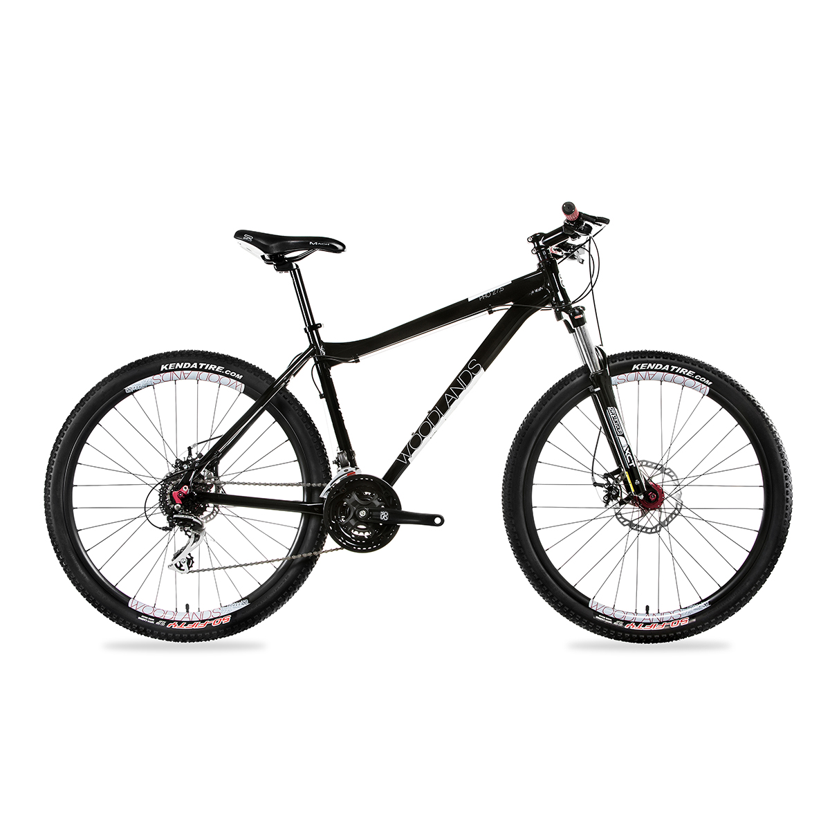 KRP WOODLANDS PRO 27,5 MTB 2.0 24S SMALL FEKETE